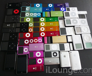 ipod, apple, and iphone image