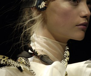 alexander, fashion show, and mcqueen image
