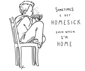 homesick, home, and quote image