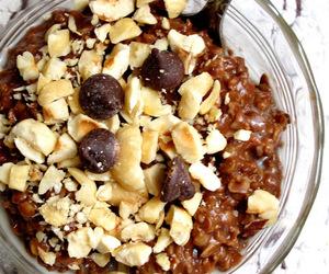breakfast, hazelnut, and chocolate image