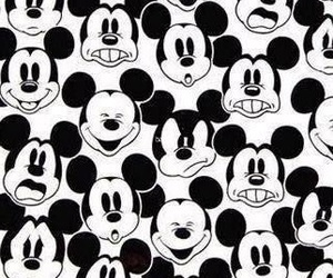 blanco, mickey, and faces image