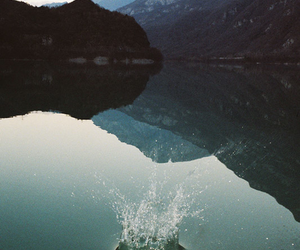 nature, water, and mountains image