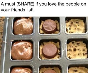 brownie, yummy, and baking image