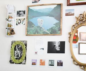 art, mirror, and vintage image