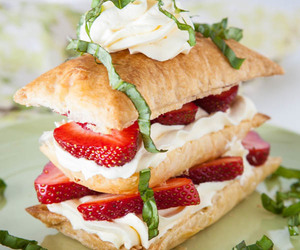 cake, food, and pastry image