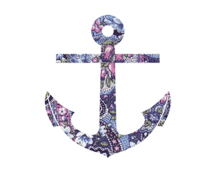 anchor, girlie, and ocean image