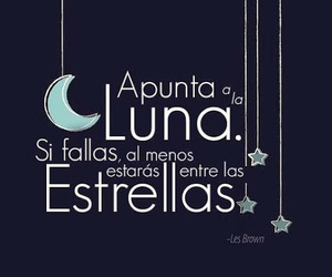 stars, moon, and frases image