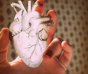 heart, hand, and nails image