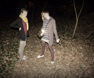 fashion, forest, and hipsters image