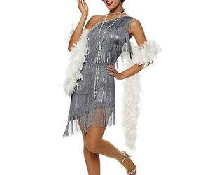 costumes, flapper, and Halloween image