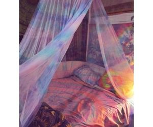 bedroom, hippies, and hippy image