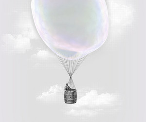 bubble and illustration image