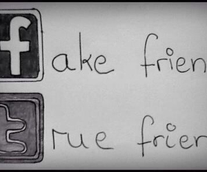 facebook, twitter, and true image