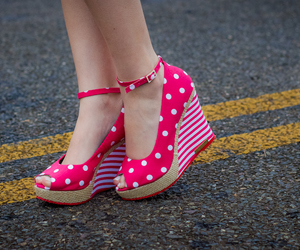 pink, shoes, and barbie image