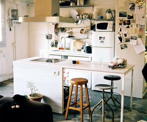 apartment, indie, and kitchen image