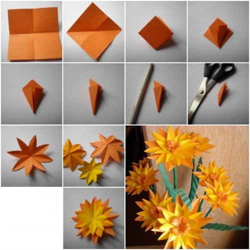 How to make paper marigold flower step by step diy tutorial how to make paper marigold flower step by step diy tutorial instructions how to instructions mightylinksfo