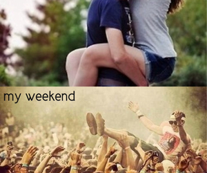concert, crowd surfing, and Relationship image