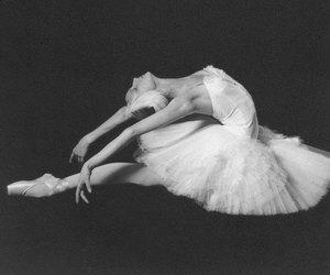 ballet, ballerina, and swan lake image
