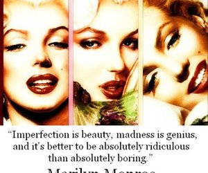 Marilyn Monroe, quotes, and beauty image