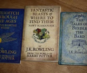 book, harry potter, and jk rowling image