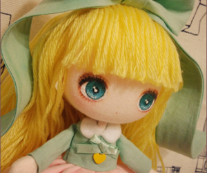 doll, homemade, and cute image