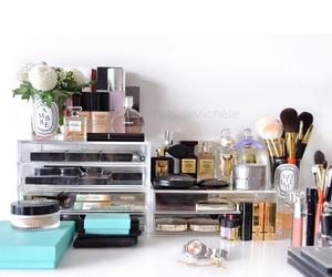 brush, makeup, and maquiagem image