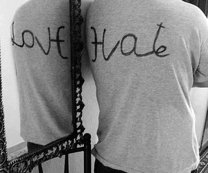love, hate, and mirror image
