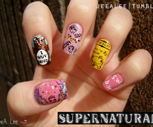 supernatural and nails image