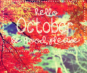 october, month, and edits image