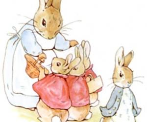 beatrix potter, bunny, and Peter Rabbit image