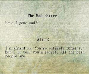 mad, secret, and quote image