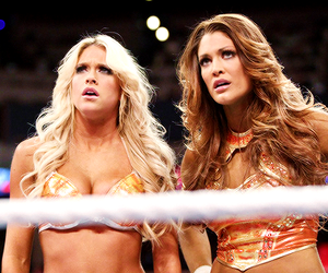 wwe, kelly kelly, and eve torres image
