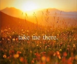 autumn, take me there, and flowers image