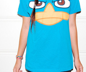 background, t-shirt, and perry image