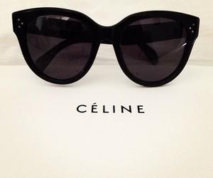 celine, black, and glasses image