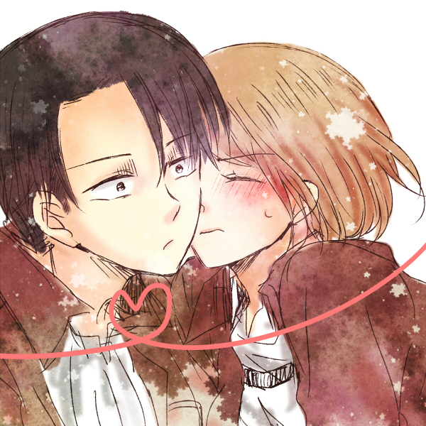 Levi X Petra Discovered By Levi Ackerman On We Heart It