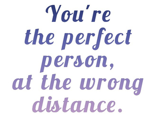 distance and perfect image