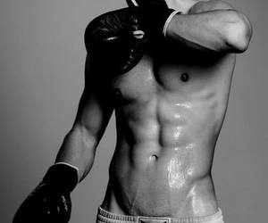 black, Hot, and boxer image