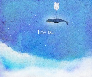 life and blue image