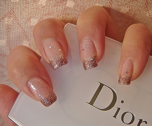 dior, pretty, and glitter image