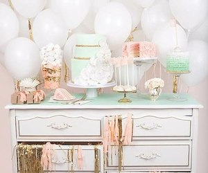 cake, pastel, and party image
