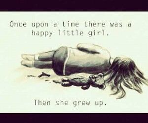 girl, depressed, and life image