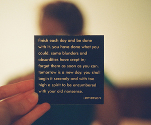 quote, Emerson, and text image