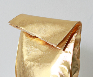 gold, bag, and golden image