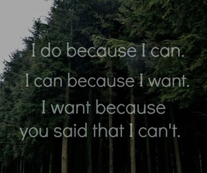 quote, i can, and text image