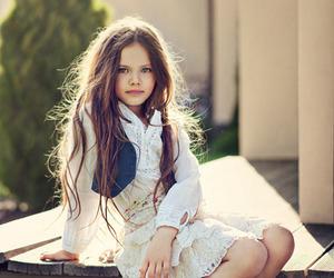 beautiful, girl, and child model image