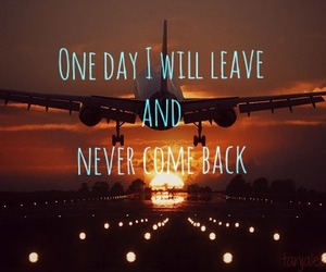 airplane, never, and oneday image