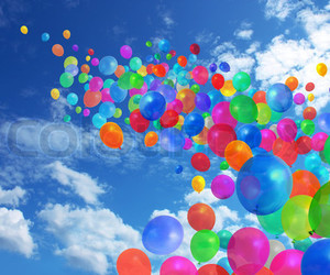 amazing, balloons, and picture image