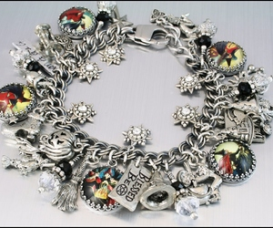 witch bracelet, wiccan bracelet, and stainless steel jewelry image