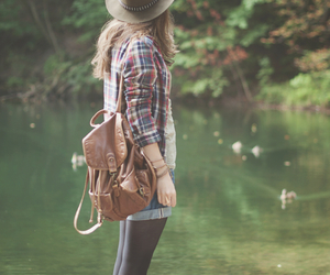 girl, nature, and style image